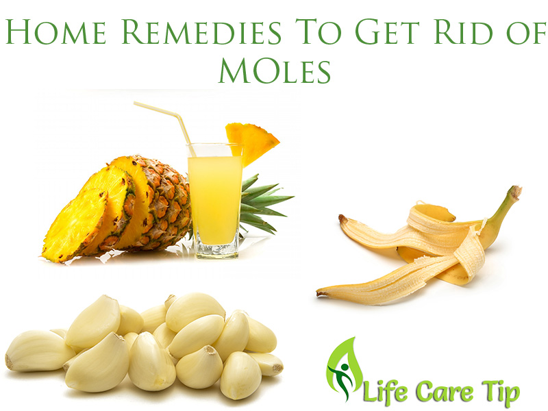3 Quick Home Remedies To Get Rid Of Moles