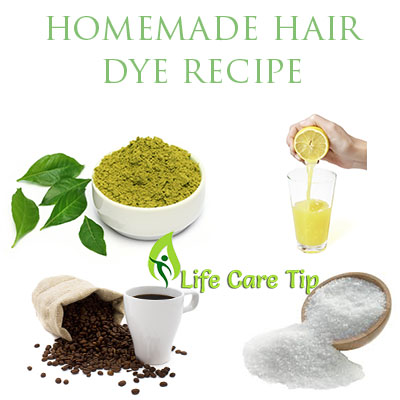 How To Prepare Natural Black Dye For Hair