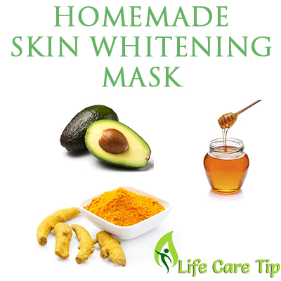 homemade skin whitening mask