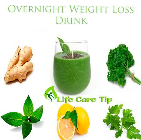 Overnight Weight Loss Drink