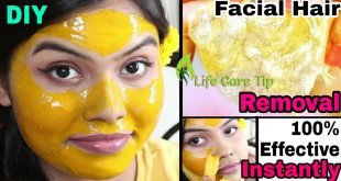 DIY peel off Mask to Remove Unwanted hair