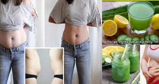 Fat cutter drink to remove belly fat at home