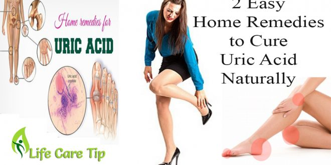 cure uric acid naturally