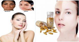 DIY Skin Whitening Capsules to Lighten Double Shaded Skin in One Month