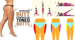Easy & Simple Exercises for Perfect Buttocks, Thighs and Legs
