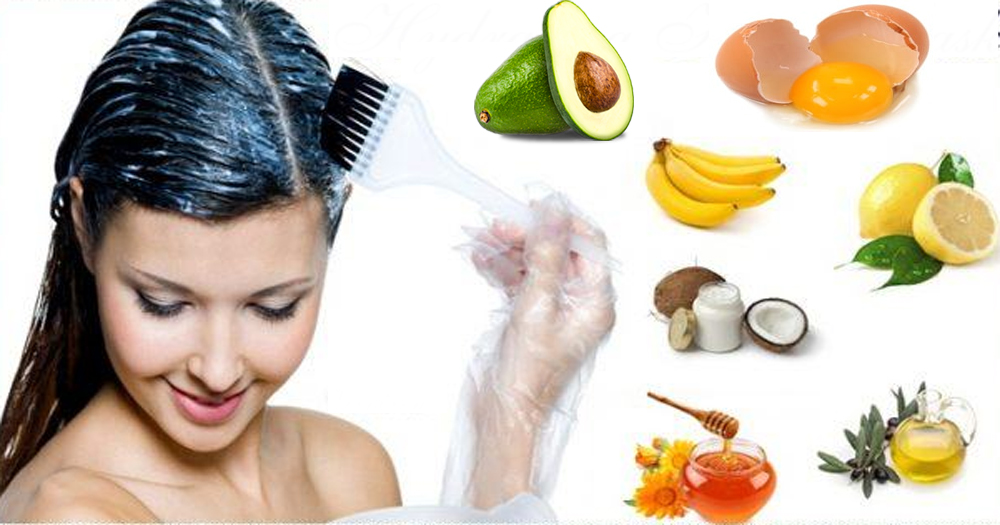 Homemade Hair Mask For The Treatment Of Damage Hair