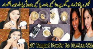 How to Make Compact Powder for Flawless Skin At Home
