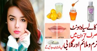 o Get Rid Of Dark Lips naturally in 7 days