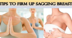 how to firm sagging breast