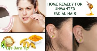 facial hair removal treatment at home
