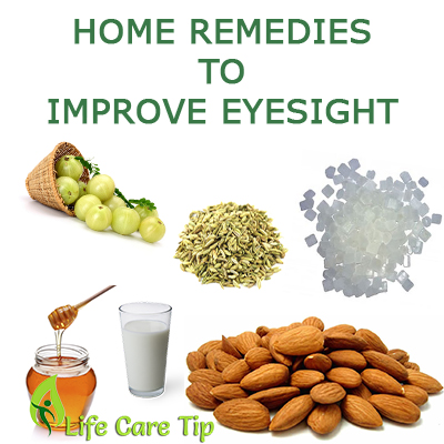 Home Remedies Improve Eye Vision Naturally