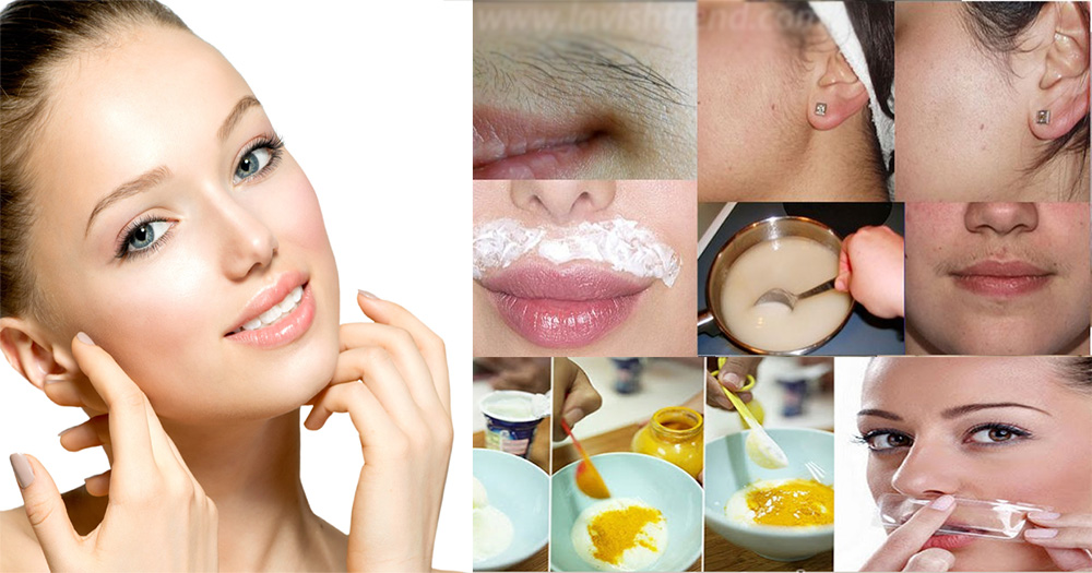 how to get rid of facial hair naturally at home
