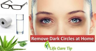 Remove dark circles in 3 days by five easy steps