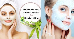 Homemade skin mask for glowing and smooth skin