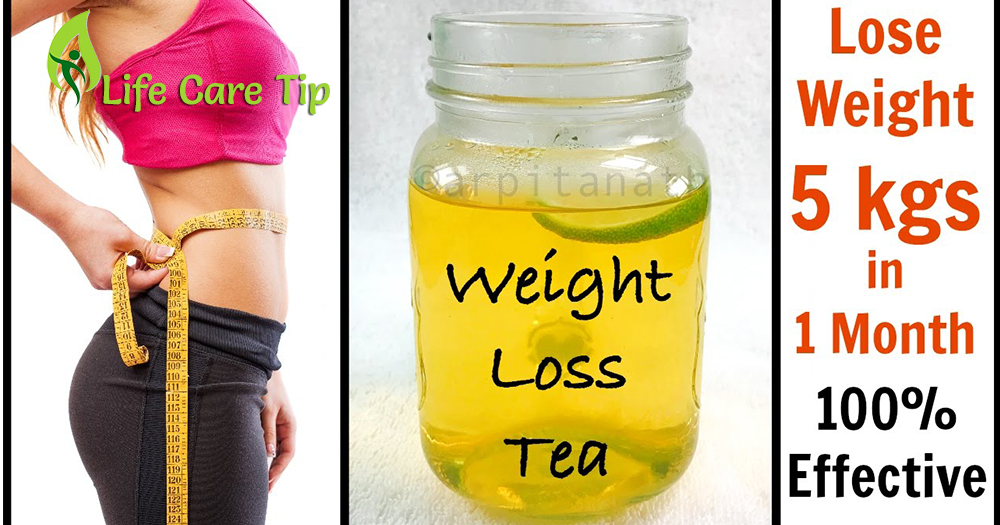 Detox tea to lose 5 kg weight in one month