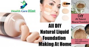 How to Make DIY Foundation At Home