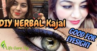 Make Herbal Kajal At Home to Get a Smoky Look