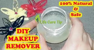DIY Makeup Remover Cream At Home