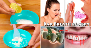 Get Rid of Bad Breath With these Simple Home Remedies