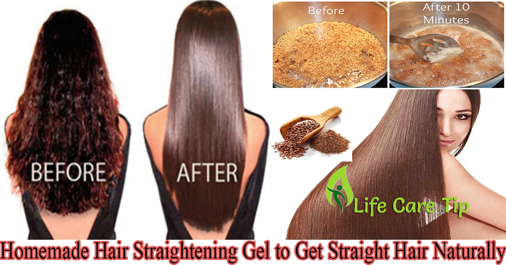 How To Make Hair Straightening Gel To Get Straight Hair Naturally Without  Any Chemical U2013 Life Care Tips
