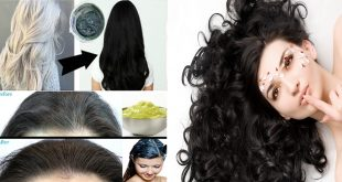 How to Turn White Hair into Black Naturally with this Magical Hair Oil