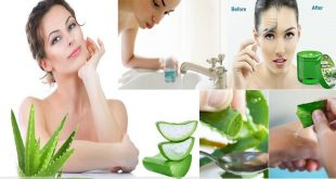 Get Refreshing Aloe Vera Skin Soother and Mouthwash