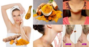 How to Get Rid of Dark Neck Naturally with Turmeric Powder Mask
