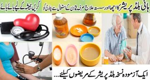 Home Remedies to Lower High Blood Pressure without Medicines