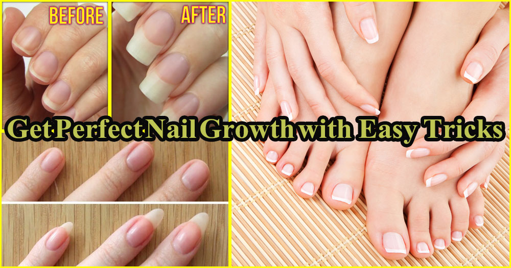 Effective Home Remedies to Get Long, Strong, Healthy and Shiny Nails ...