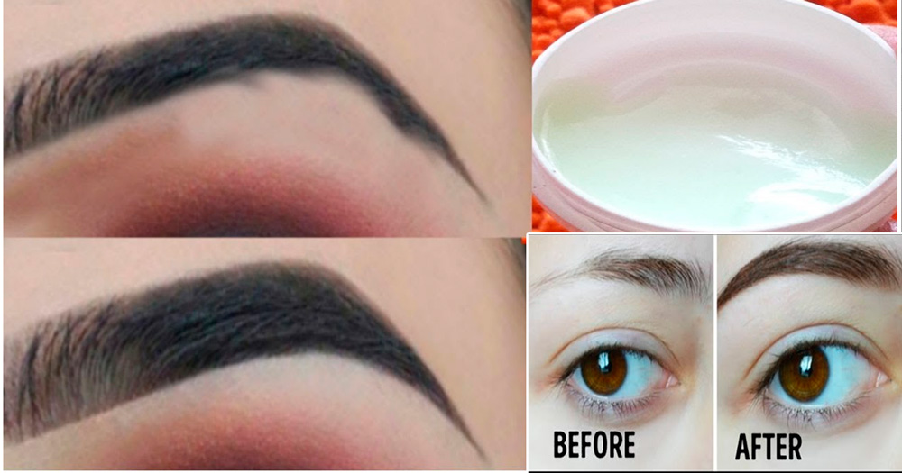 How To Grow Eyebrows Thicker Naturally Fast Life Care Tips