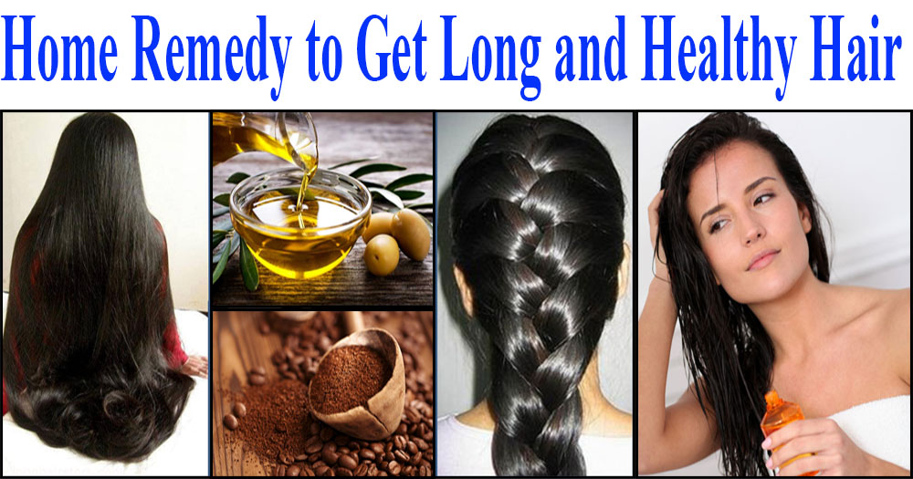 Home Remedy For Shiny Longer Hair