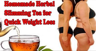 Homemade Herbal Tea for Weight Loss Quickly with no Side Effects