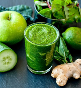 Green Juice to Stop a Headache and Migraine in 1 Minute Only