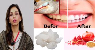Toothpowder to Get Healthy Gums & White Teeth Naturally by Dr. Umme Raheel