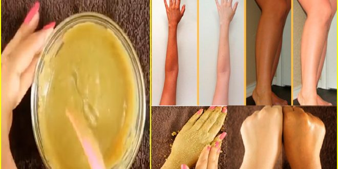 Permanent Full Body Whitening Treatment with Home Remedy