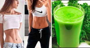 Homemade Detox Drink to Lose Belly Fat