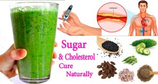An Effective Home Remedy for Sugar & Cholesterol Cure