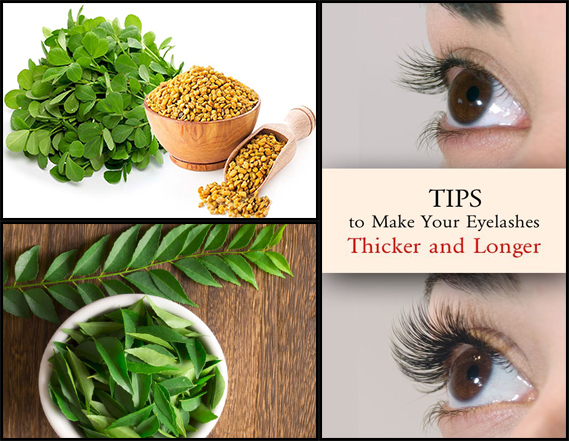 Try these Home Remedies to Grow Thick Eyelashes