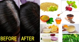 easy Home Remedy to Turn White Hair to Black
