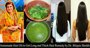 Homemade Hair Oil to Get Long and Thick Hair Remedy