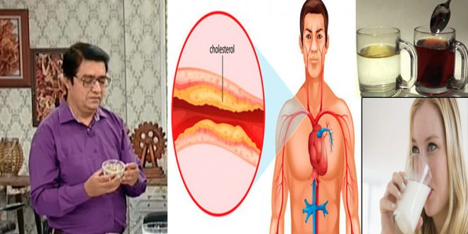 Get Rid of High Cholesterol Level Home Remedies by Hakeem Shah Nazir