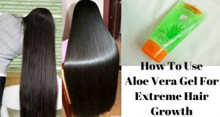 How to Use Aloe Vera Gel For Hair Growth at Home Naturally