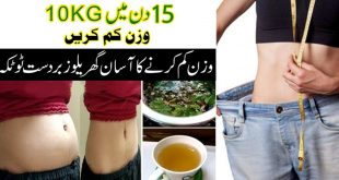 Fat burner tea for 10kg weight loss in 15days